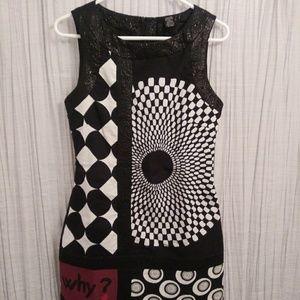 Desigual geometric dress